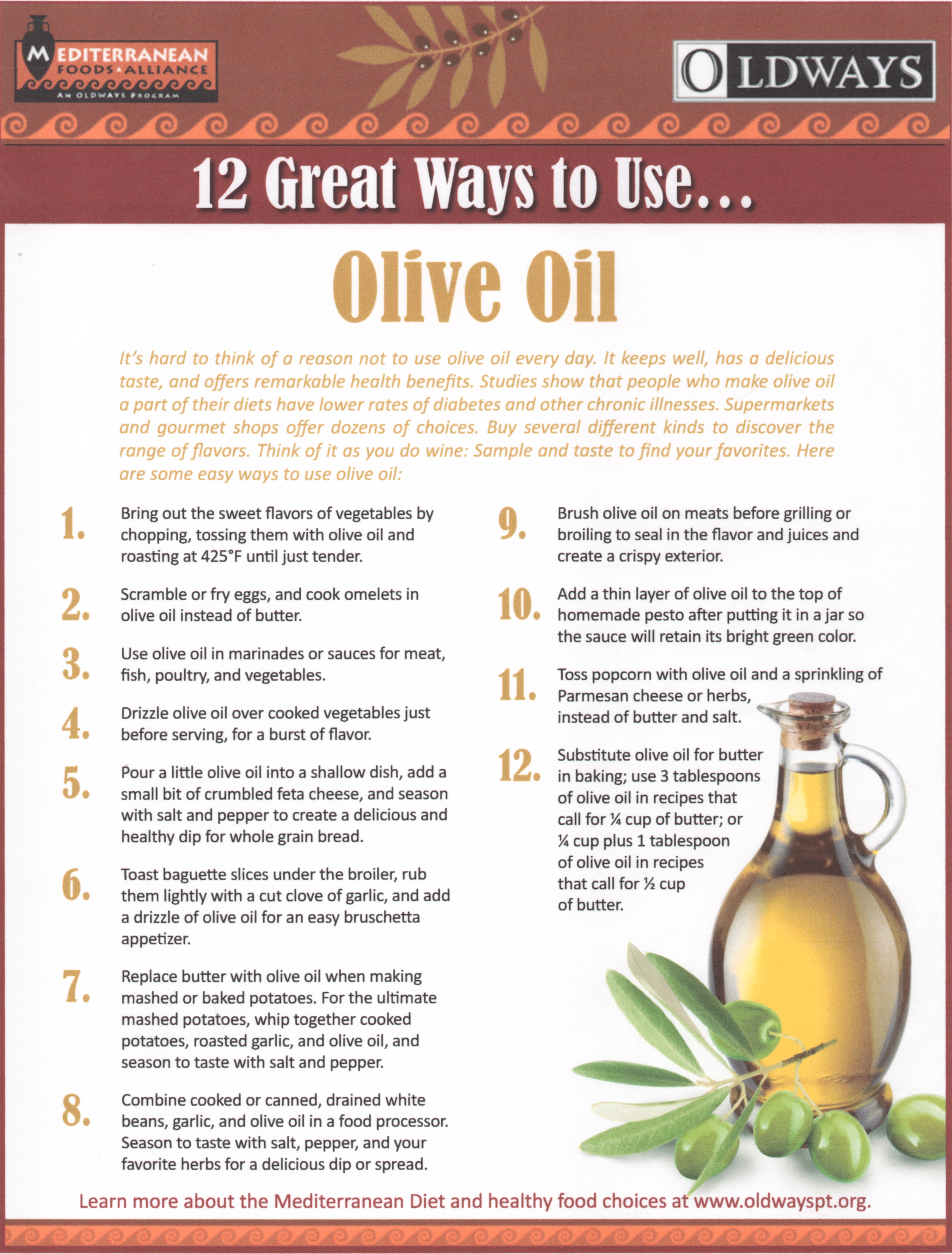 12 great ways to use olive oil - dell'orto extra virgin